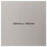 0.5mm Perf Sheet 304 x 0.4mm T (100x100)